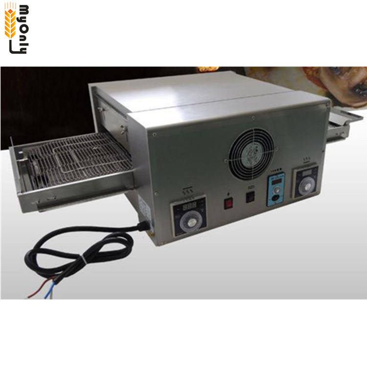 Commerciële Rvs Gas Transportband Pizza Oven