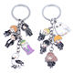 Hogwarts Magic College Hp Hermione and Owl Keyring