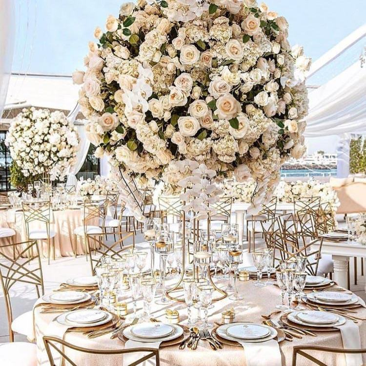 IFG Wedding table decoration artificial centerpiece flower