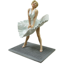 Custom made new hot  products polyresin sexy girl Marilyn Monroe statue