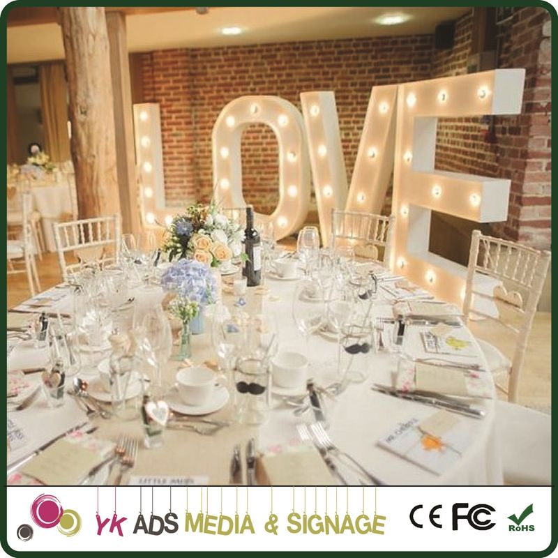 marquee at home Decoration Letters