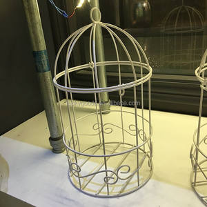 Custom made fancy birdcage del basamento per i fiori artificiali