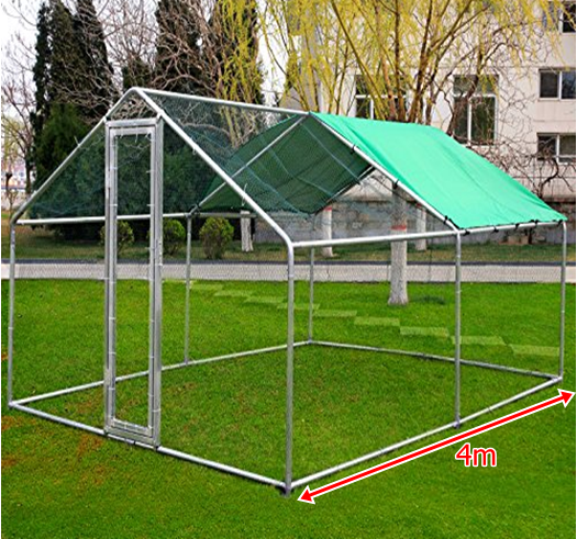 Walk In Chicken Run / Coop 2m x 3m extendable Hens