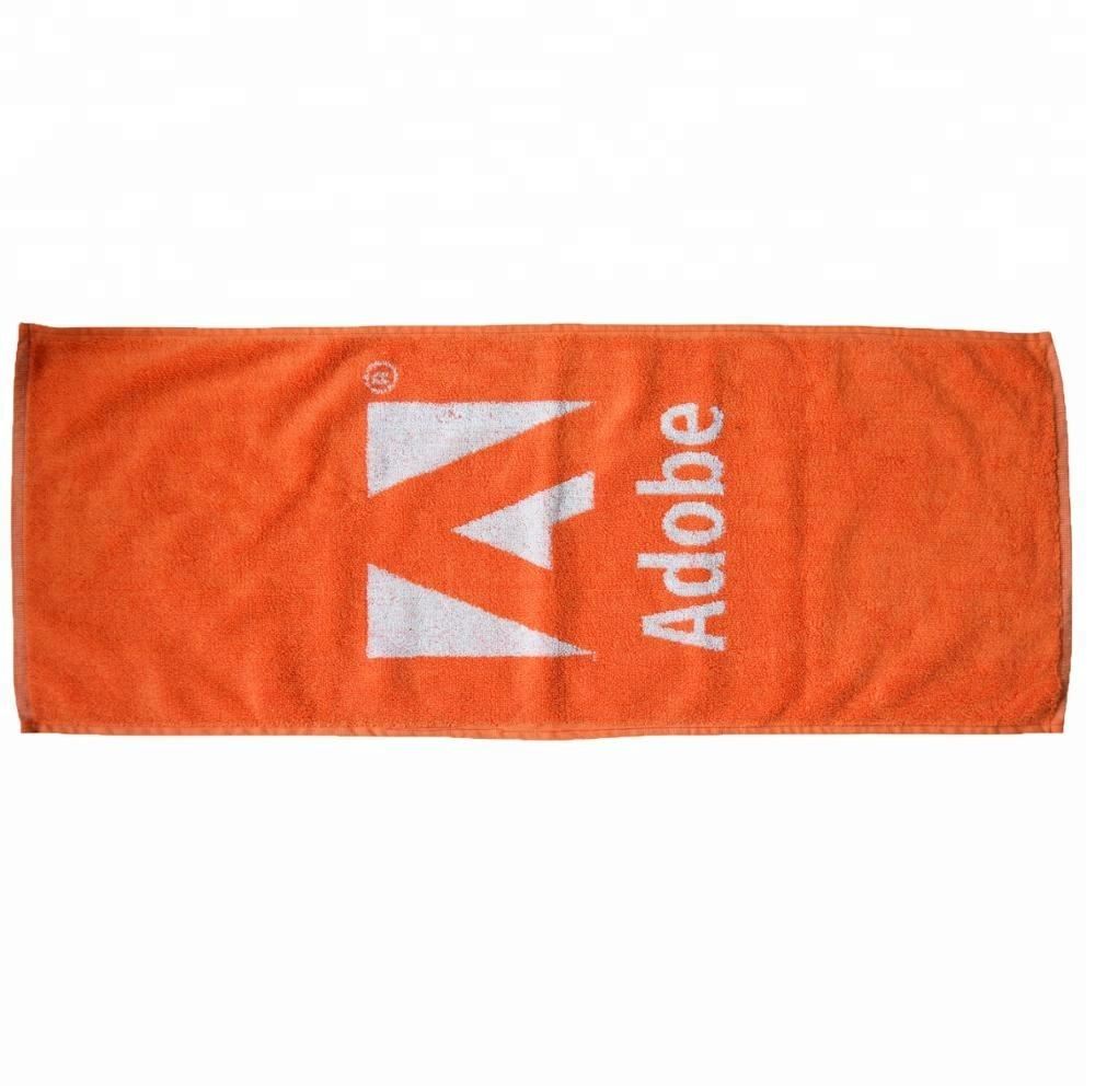 Quality personalized Jacquard Terry cotton sport towel