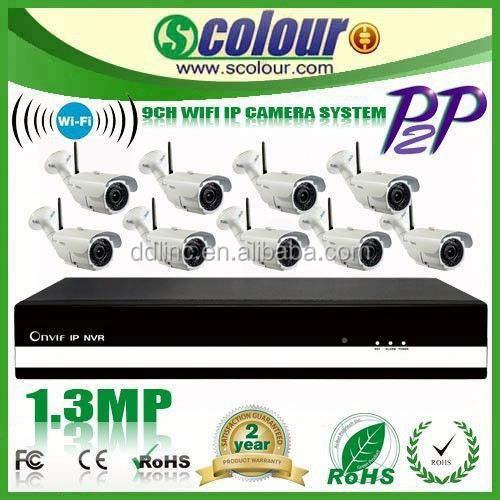 8ch poe <span class=keywords><strong>nvr</strong></span> kit câmera de segurança ip system3