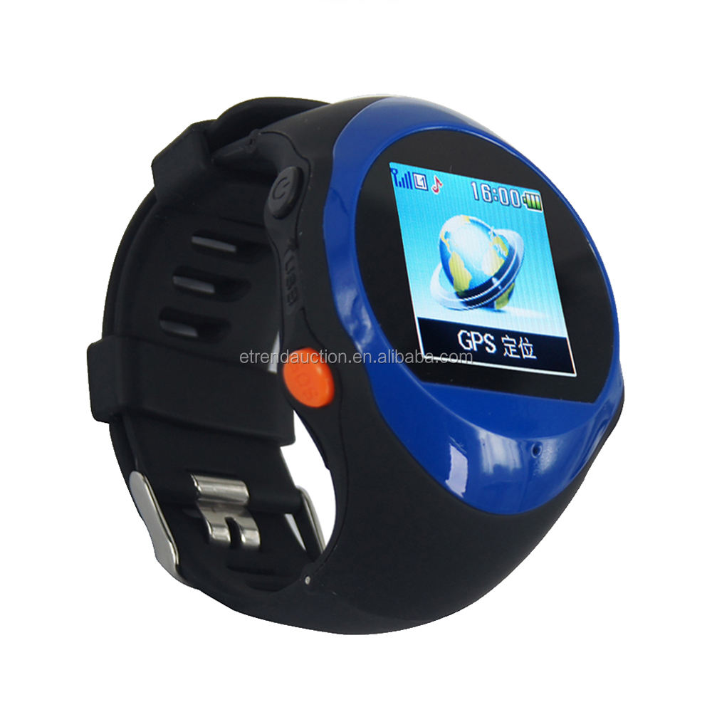 GPS Sport Wrist Watch GPS Tracker for elderly Offender Tracking