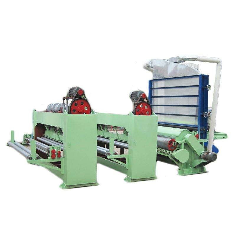 Nonwoven Fabric Machinery Non Woven Making Machine Nonwoven Needle Punch Loom Rib Needle Loom with Cotton Rags