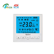86x86mm HAVC Digital Programmable 4-pipe Thermostat Temperature Controller