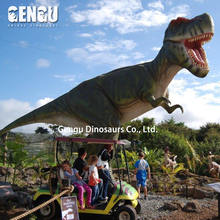 Dinosaur water slide for dinosaur park to sale