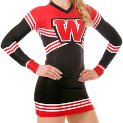 custom cheerleading uniforms/uniformes cheerleading design/wholesale cheerleading uniforms