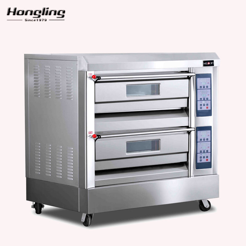 Good Price Bakery Equipment Gas Oven with Stone (China Factory)