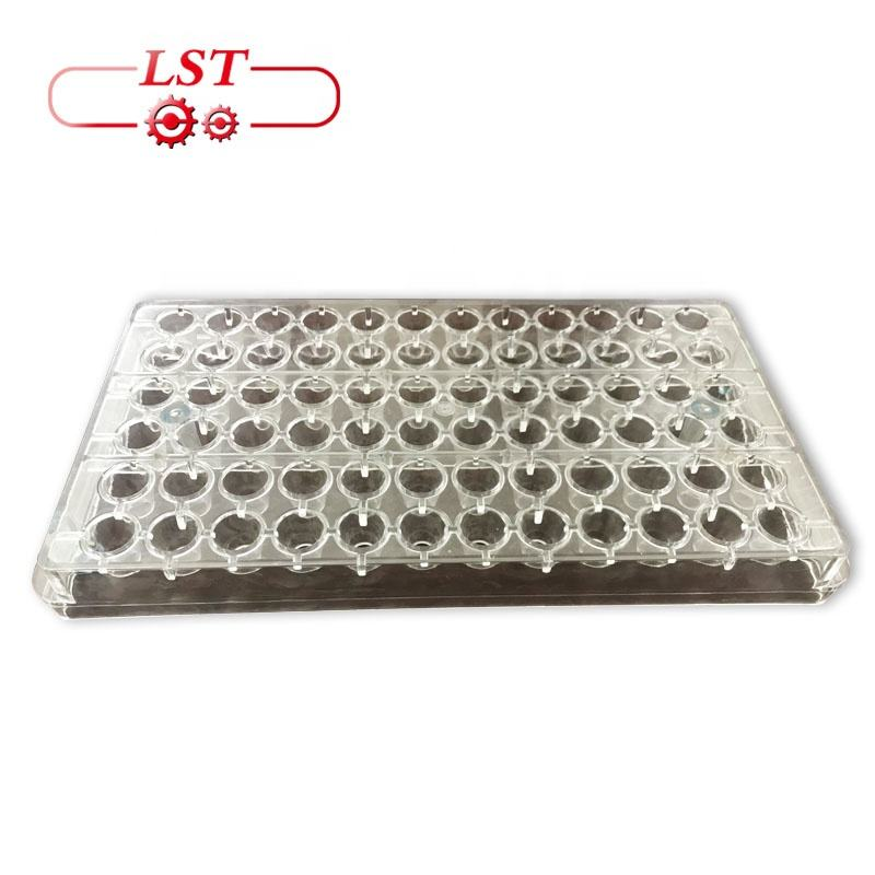 FDA Certificate Custom Polycarbonate Chocolate Molds Plastic Chocolate Silicone Mold