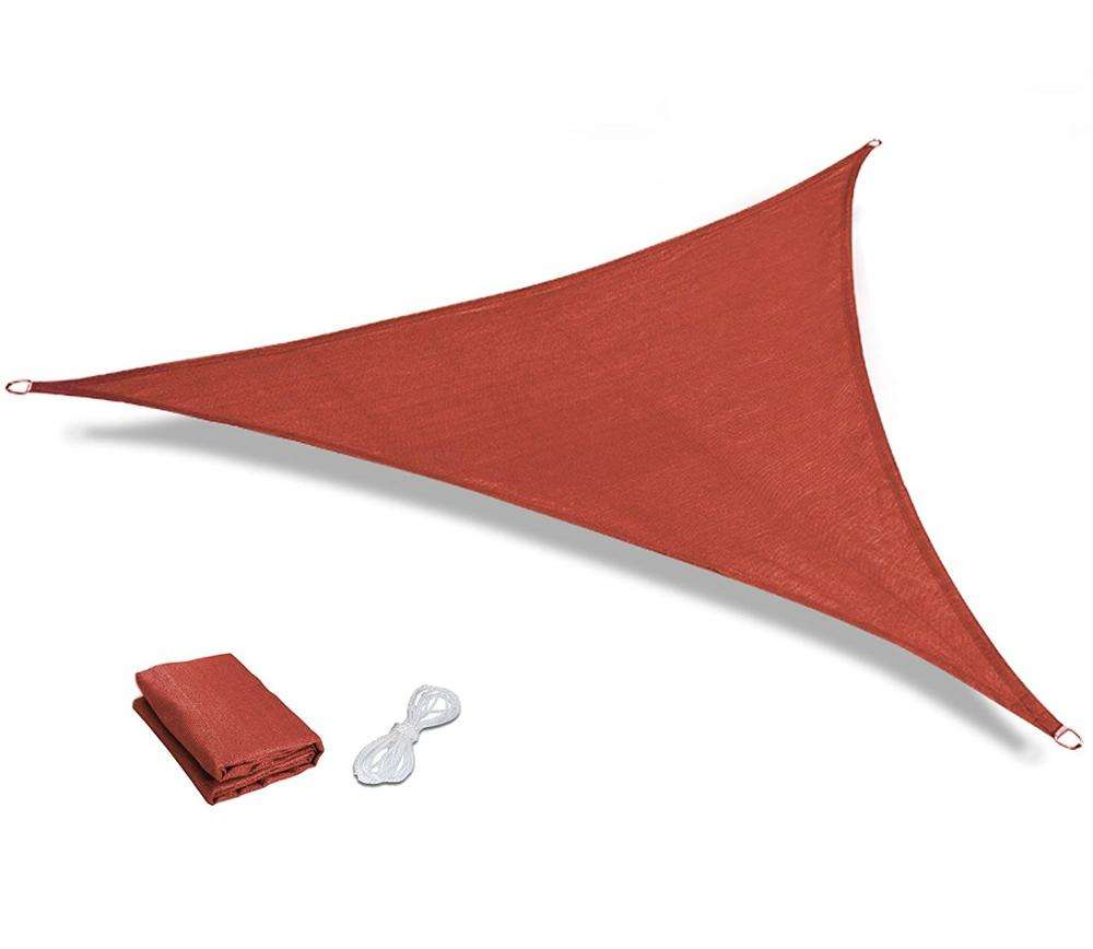 Outdoor Patio Garden 12' x 12' x 12' Triangle UV Block Sun Shade Sail