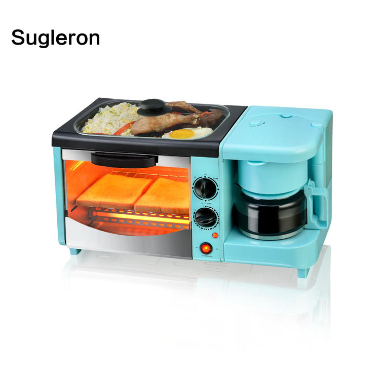 [Sample order] electric heater 3 in 1 Breakfast Maker with colorful 1127