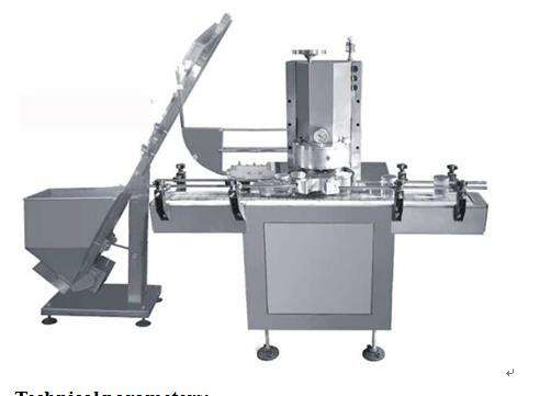 Full Automatic Glass Bottle Vacuum Screw Capping Machine