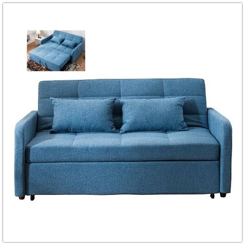 <span class=keywords><strong>Muebles</strong></span> de sala T5B respaldo reclinable ajustable sofá cama cum
