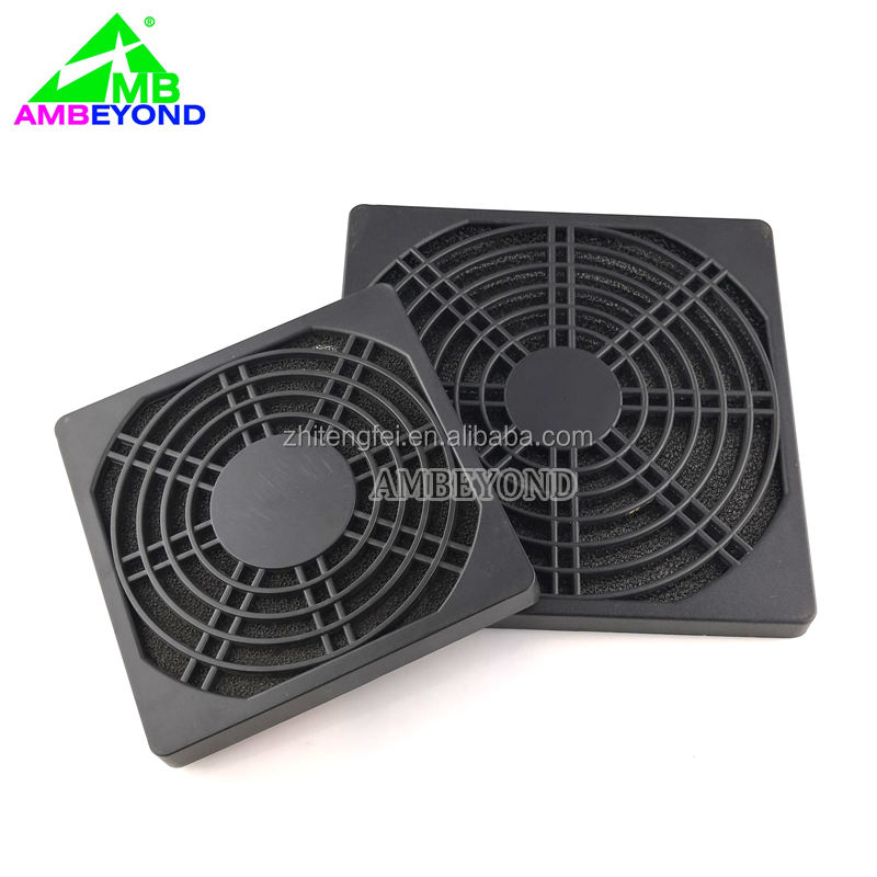 3 in 1 plastic computer fan stoffilter/120mm fan plastic cover grill guard