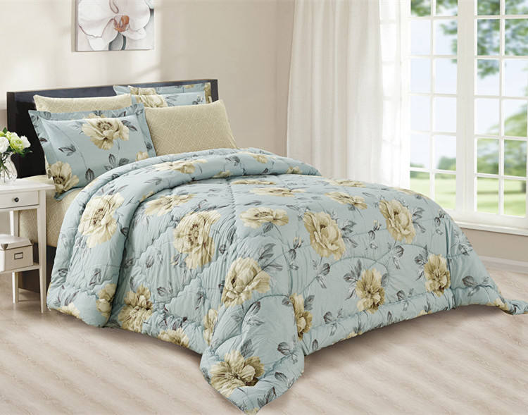 2019 New design super soft washed wholesale comforter sets cotton bed sheets bedding set in China