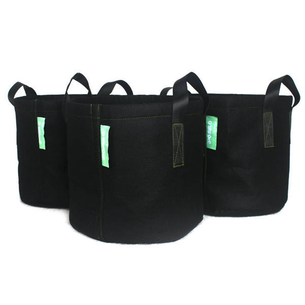 High Quality 10 gallon garden plant growing bags pot felt grow bag with Handles