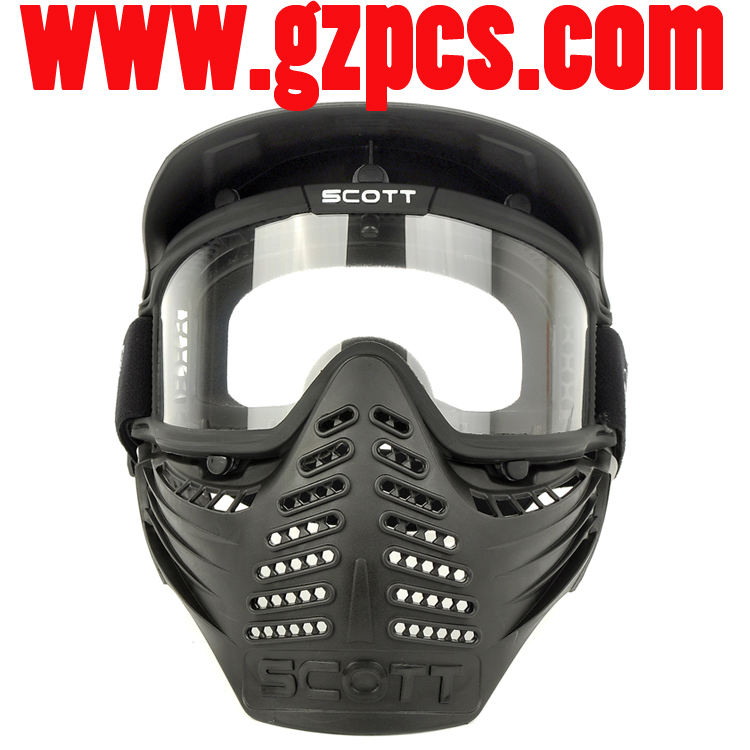 GZ90002 safty paintball completa rosto Airsoft máscara Do Partido