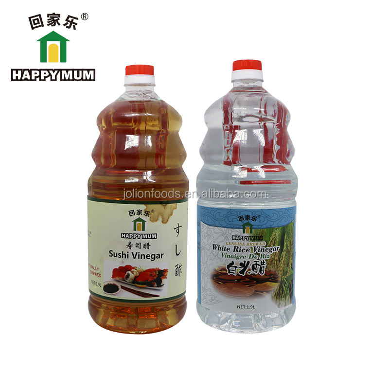 1.9L FDA Haccp PET Bottle Brewed Sushi Flavored Vinegar from China