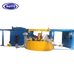 rotational moulding machine 2 arms/3 arms/4 arms rotomolding machinery