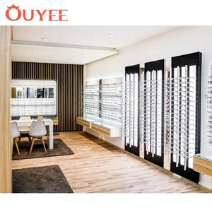 Wholesale Commercial Wall Led Sunglass Display Optical Shop Furniture Design