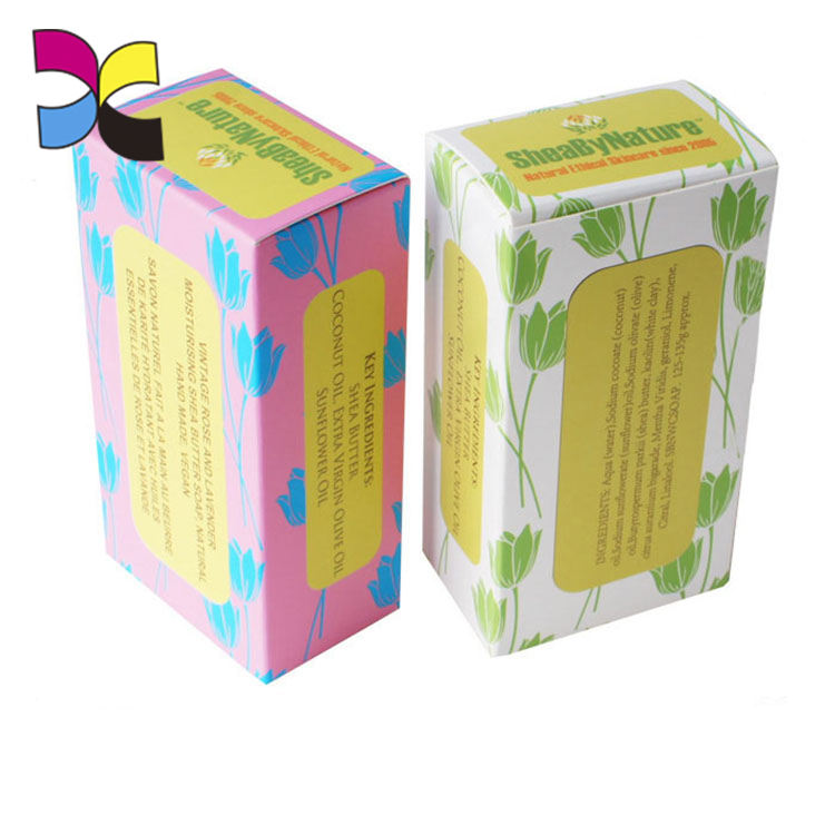 Soap wrap pulp soap box packaging with fashion design service