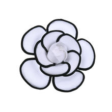 Artificial cheap flower brooch corsage for girls Christmas fancy dress decoration