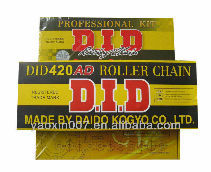 motorcycle chain and sprocket kits for pakistan