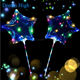 Wholesale LED Bobo ballon 18 inches LED balloon with String Light for Christmas New Year Wedding Party Decor