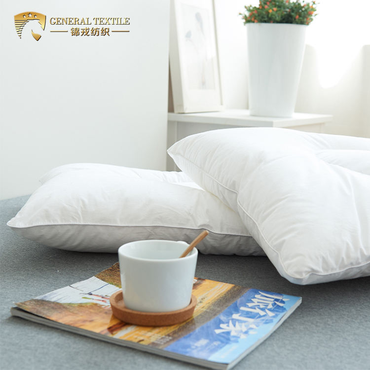 JR249 wholesale Microfiber Polyester individual vacuum packed pillow