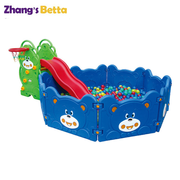 Plastic Toddler Playground Small Slide Kids Indoor Playground