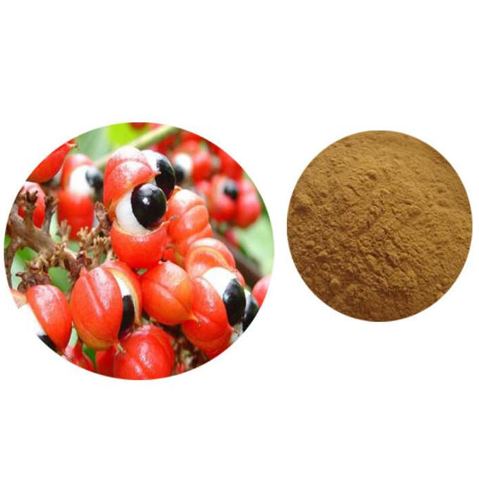100% Pure Natural Guarana Seed Extract Caffeine Powder Guarana Price