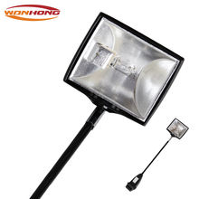 Exhibition halogen lamp trade show display clamp spotlight KJ202
