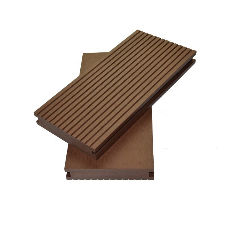 China Supply Oem <span class=keywords><strong>Wpc</strong></span> Decking Boards Effen Vloeren Groef Composiet Decks