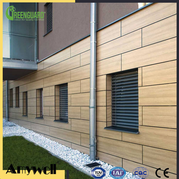 Amywell Fireproof anti-uv 8mm hpl facade panel