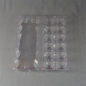 clear blister plastic chicken egg trays clamshell of 12 pcs and 6 pcs