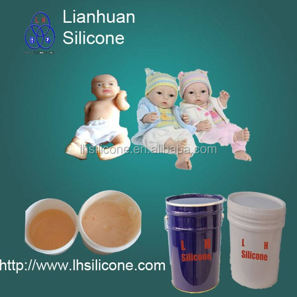 Leading manufacturer of lifecasting 08 Shore A hardness liquid silicone rubber