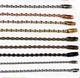 2.4mm colorful metal ball chain for toys /clothing /bags