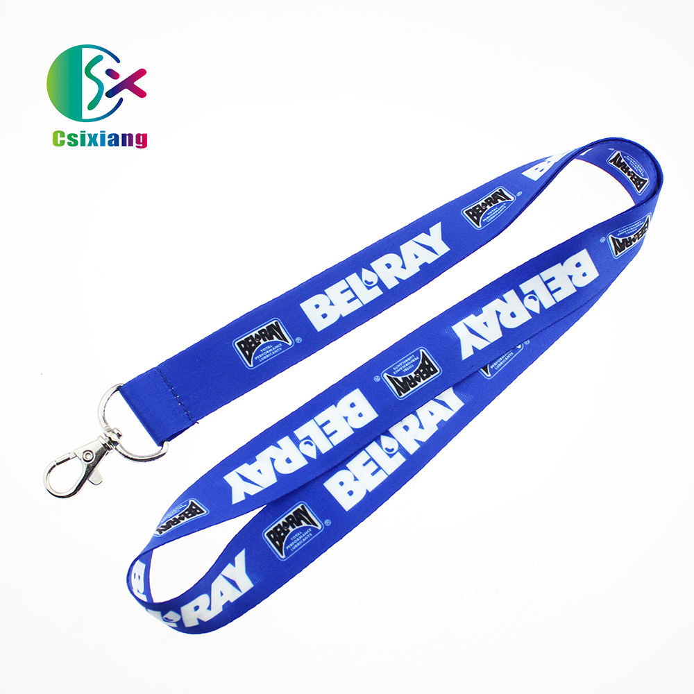 Top Quality Economic Custom Printed Logo Polyester Material Lanyards For Office Promotional Gift