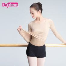 Women Nude Ballet Clothes Tops Dance Underwear