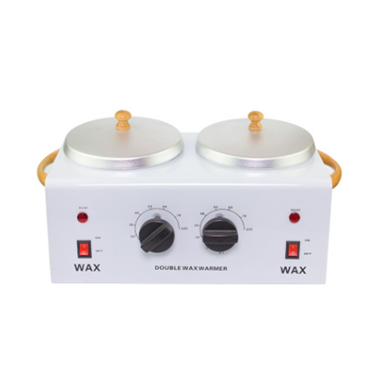 500ml*2 large double metal hair removal wax heater warmer machine for beauty salon melting wax