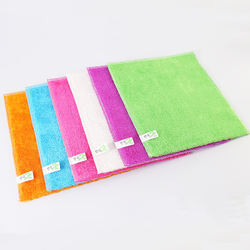 Most popular super water absorbent bamboo fibre cleaning rags for kitchen