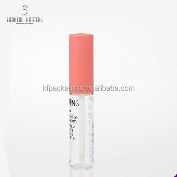 Hot Stamping Cosmetica Lege Clear Lipgloss Tube Met Applicator