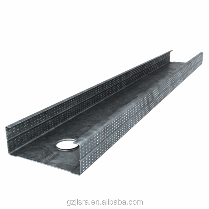 Zinc coating 275g Metal building slotted galvanized c channel steel price