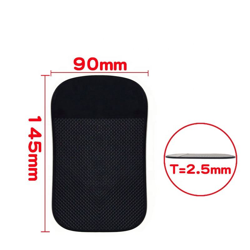 Wholesale non slip sticky adhesive gel pad silicon anti slip mat