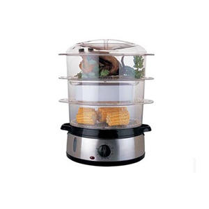 FS204 Hot sales home use stainless steel 9L Electric Commercial Industrial Food Steamer machine