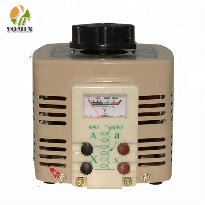 TDGC2 3KVA Single Phase 12 Amp Regulator Tegangan 220 V Variac