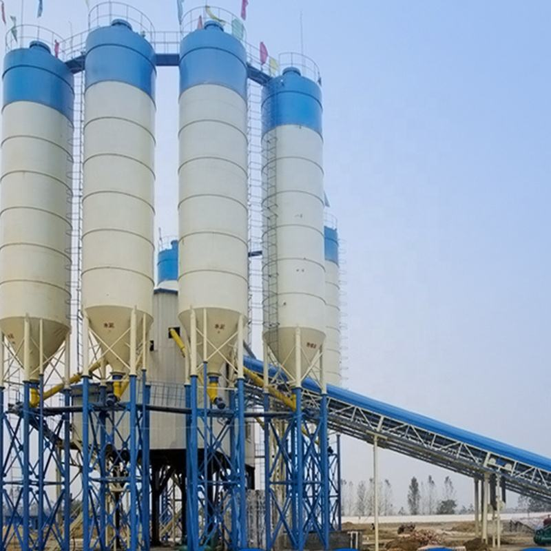 HZS180 High Production Readymix Concrete Batching Plant Capacity In Dubai